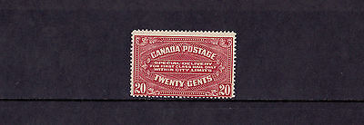Canada (Special Delivery) - 1922 20c Carmine Red - Mtd Mint - SG S4