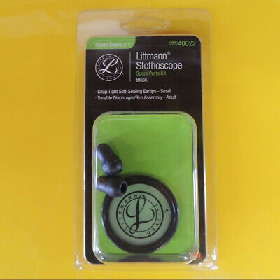 #40022 3M LITTMANN Stethoscope Spare Parts Kit Master Classic II - Black