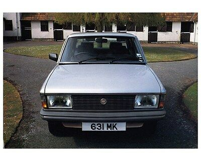 1983 Fiat Argenta Two Litre Factory Photo ca4298