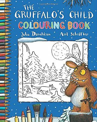 The Gruffalo's Child Colouring Book,New Condition