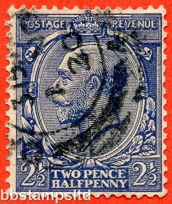 SG. 373 variety N21 (15). 2½d Indigo Blue ( toned paper ). A very fine CDS used