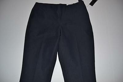 Liz Claiborne Ankle Navy Blue Cropped Capri Pants Womens Size 6 New