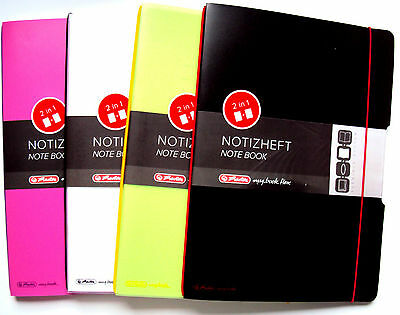 Herlitz my.book flex Notizheft A4, 2 in 1