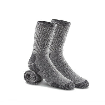 2 Pairs: Certified Merino Wool Blend Thermal Socks By RC Collection