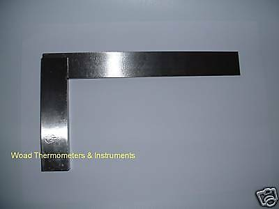 Traditional Milled Stock Engineers Square 100Mm Hardened Steel Blade Din875/1