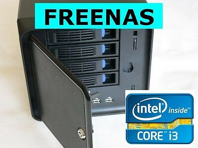 INTEL CORE-I3 I5 4GB FREENAS NAS4Free 4-Bay HDD HOT SWAP NAS Storage Server