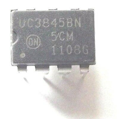 UC3845BN UC3845B On Semi Current Mode PWM Controller 1A 8-Pin PDIP
