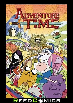 ADVENTURE TIME VOLUME 1 GRAPHIC NOVEL New Paperback Cartoon Network BOOM STUDIOS