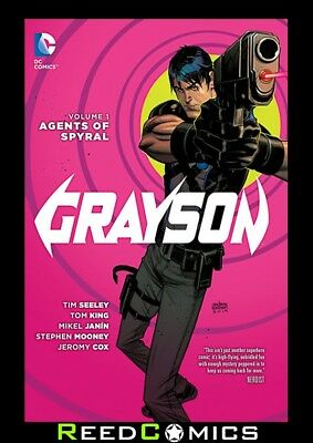 GRAYSON VOLUME 1 AGENTS OF SPYRAL GRAPHIC NOVEL New Paperback Collects #1-4