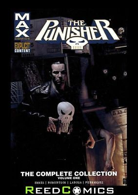 PUNISHER MAX COMPLETE COLLECTION VOLUME 1 GRAPHIC NOVEL New Paperback