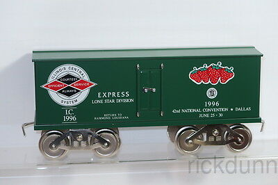 New Mccoy Manufacturing 1996 Tca Dallas Convention Illinois Central Express Car