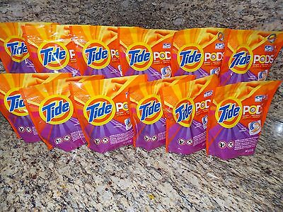 Tide PODS Laundry Detergent Pacs, 168 Count(12 NEW PACKS, 14 ct Each)