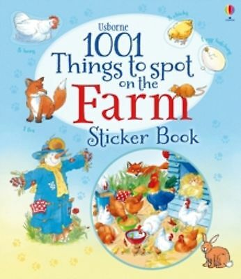 1001 Things to Spot on the Farm Sticker Activity Book - New