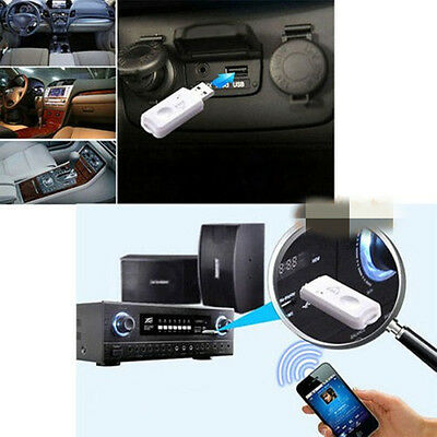Quality Car USB BT Wireless Stereo Audio Music Speaker Receiver Adapter Dongle