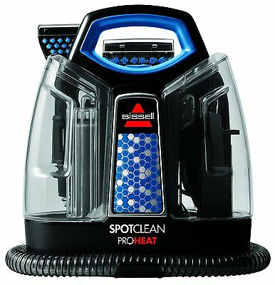 BISSELL SpotClean ProHeat Portable Spot Cleaner Carpet Removes Dirt Stains NEW