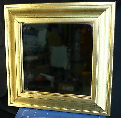 17Th- 18Th C. Gold Gilded Camp Shaving Mirror Reenactor Pirate Sailor