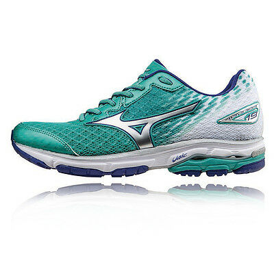 Mizuno Wave Rider 19 Femme Amorti Running Route Sport Chaussure Baskets Sneakers