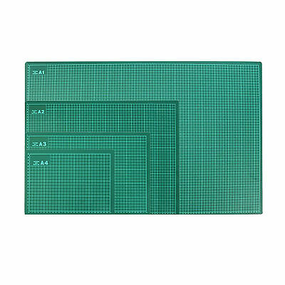 A1 A2 A3 A4 Green Craft Cutting Mat - Self Healing Non Slip Grid