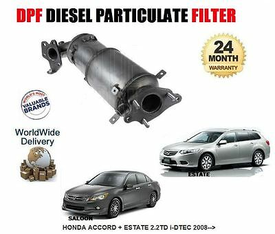 For Honda Accord 2.2Td 2008--> New Dpf Diesel Particulate Filter 18190-Rl0-G00