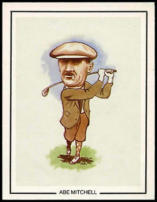 Abe Mitchell #11 Golfing Greats Golf Card (C67)