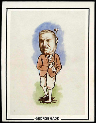 George Gadd #19 Golfing Greats Golf Card (C67)