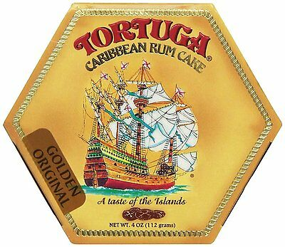 Tortuga Original Caribbean Rum Cake, 4-ounce Cake with Walnuts Flavored
