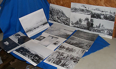 10 Giant Pictures Mexican American War Mexico Photos Photographs Old DPA Series