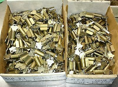 LOCKSMITH BULK! Schlage 21-002C 606 Standard Cylinders, 5-Pin, w/2keys each, KD!