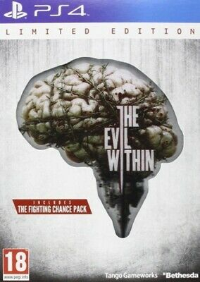 The Evil Within: Limited Edition (PS4) PEGI 18+ Adventure: Survival Horror