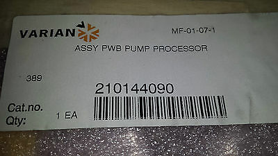 Varian Assy PWB Pump Processor 210144090