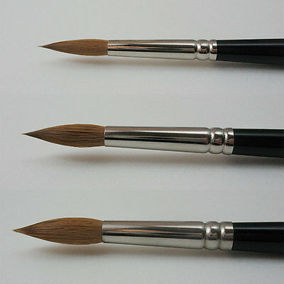 Winsor & Newton Series 7 Artists Sable Watercolour Brushes