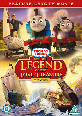 Thomas & Friends: Sodor's Legend of the Lost Treasure - The Movie DVD (2015)
