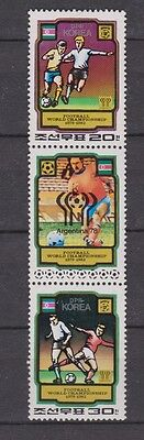 s5620) KOREA 1980 MNH** World Cup Football'82 - Campionato Mondiale Calcio 3v.