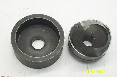 """Greenlee 2"""" Knock-Out Punch & Die 500-4062 & 500-4063"""