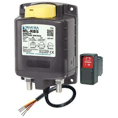 Blue Sea 7700 ML-RBS Remote Battery Switch with Manual Control Marine DC