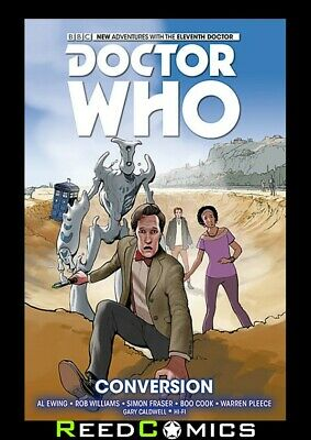 DOCTOR WHO 11th DOCTOR VOLUME 3 CONVERSION HARDCOVER New Hardback Collect #11-15