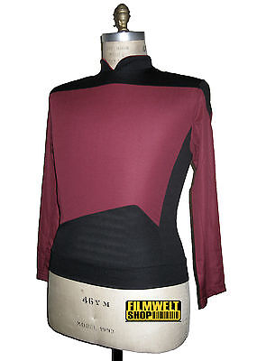 STAR TREK - Uniform Shirt Next Generation rot - deluxe  XL NEU
