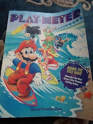 coin-op Amusements july 1989 vol15#7 Play Meter MAGAZINE NOSTALIA ISSUE