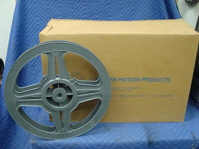 35mm Plastic Exchange Reels 2000' BRAND NEW case of 12 Circular Motion Reels