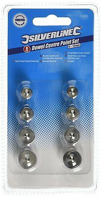 Silverline 8 Pce Alignment Of Drill Holes Dowel Centre Point Set,6 -12mm, 733252