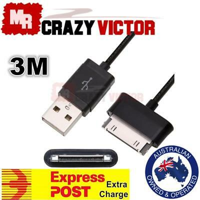 3m USB Charger Cable fr Samsung Galaxy Note 10.1 GT-N8013 N8010 N8000 N8020