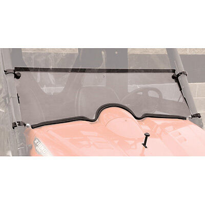 Hinged Folding Windshield Yamaha RHINO 700 FI 4x4 Auto 2008-2009 2011 Half + 2""