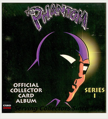 *Australia Dynamic Phantom Series 1 Trading Card Official Album(With pages)-Rare