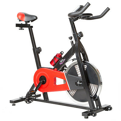 Indoor Cycling Fitness Bike Ergometer Fahrrad Rad Heimtrainer mit Computer