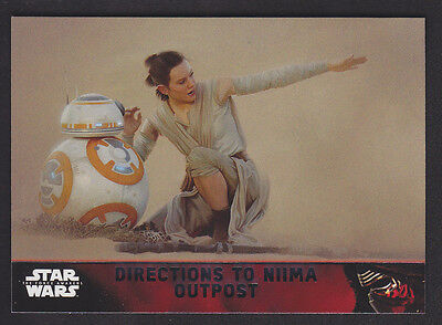 Topps Star Wars - The Force Awakens - Base Card # 78