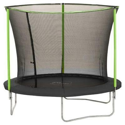 Plum 8ft Trampoline 'Enclosure Only' Safe Weather Proof Steel Frame Safety Net