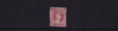 Bahamas - 1862 4d Dull Rose - Fine Used - SG 18
