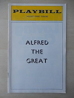 1974 - Walnut Street Theatre Playbill - Alfred the Great - Nancy Chesney