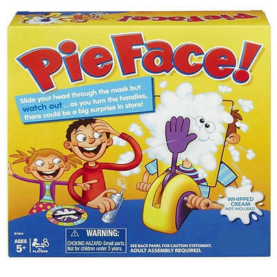 NEW Pie Face Game Fun Filled Family Game of Suspense -BOX Package Kids Gift Toys