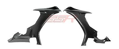 2015-2018 Yamaha R1 R1S Front Side Bodywork Panel Cover Fairing Twill Carbon